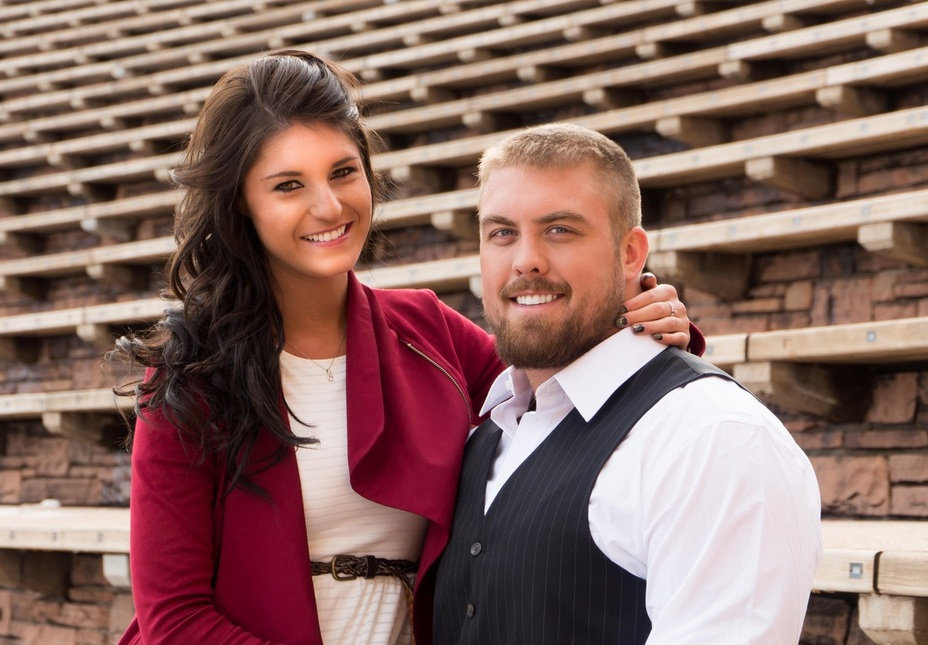 Couple Photo Session in Denver, Red Rocks