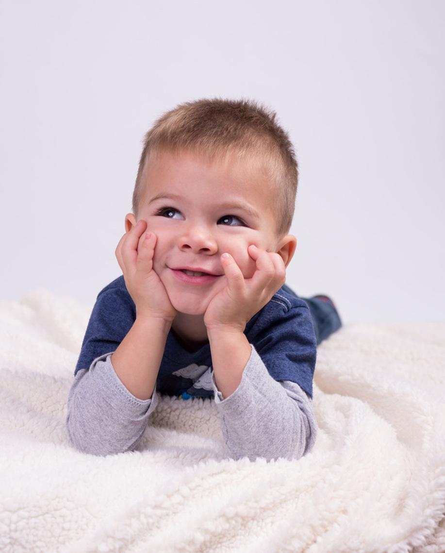 Cute toddler baby boy