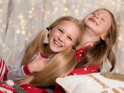 Christmas Photosession with Sasha and Sofia